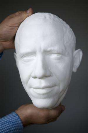 Smithsonian creates first 3D portrait of Obama