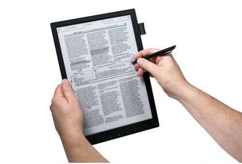 Sony Digital Paper offers 12.6-ounce business rewrite