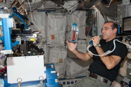 Space-tested fluid flow concept advances infectious disease diagnoses