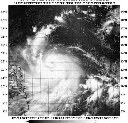 Suomi NPP satellite sees Typhoon Rammasun approaching Philippines