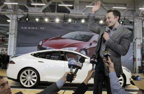 Tesla selects Nevada for battery plant