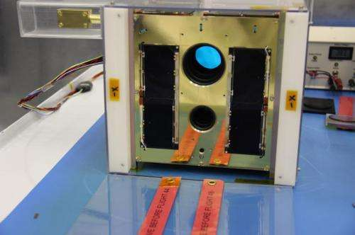 Two low-cost, car battery-sized Canadian space telescopes launched today