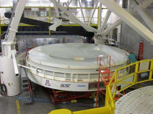 UA optics at heart of telescope poised to catch the action in the universe