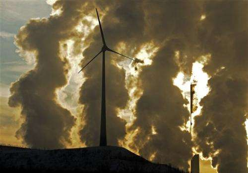 UN panel shows who's responsible for CO2 emissions