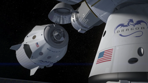Video: SpaceX's new manned Dragon