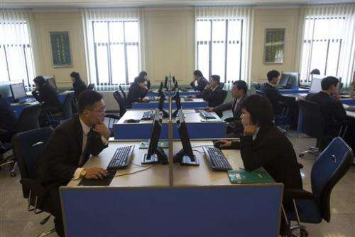 Wary NKorea struggles to stay afloat in info age