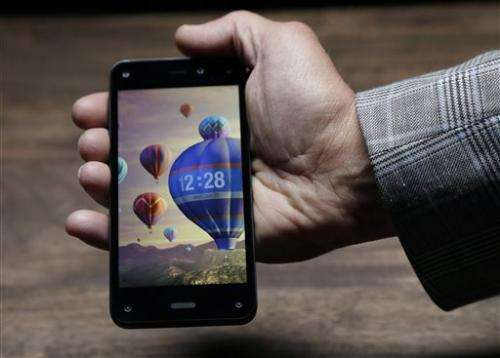 Review: Amazon phone watches you watch it