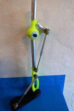 Robohand shows work on prototype RoboLeg prosthetic