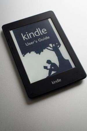 File photo of Amazon's Kindle e-reader