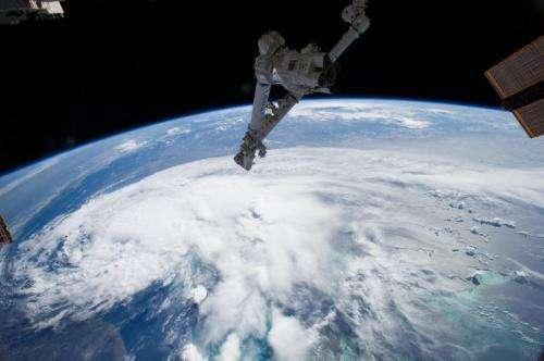 International Space Station captures image of Arthur