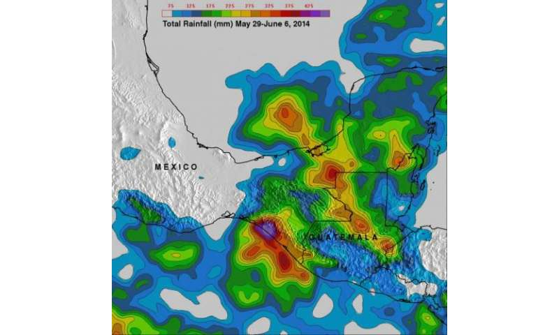 NASA's TRMM satellite analyzes Mexico's soaking tropical rains