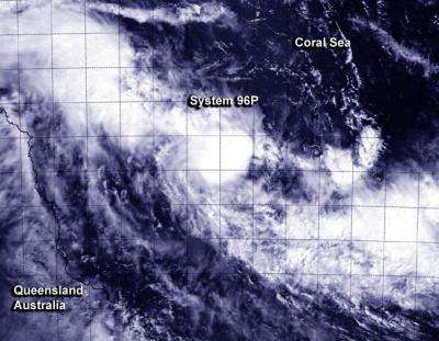 NASA satellites see double tropical trouble for Queensland, Australia