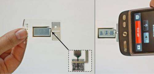 Mystery of the printed diode solved