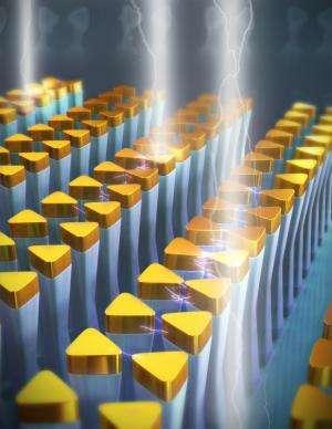 University of Illinois researchers demonstrate novel, tunable nanoantennas