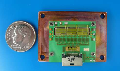 Researchers develop world's first microwave-controlled ultra compact power converter