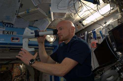 Alexander's first week in space