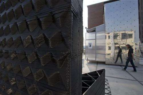 Amsterdam canal house built with 3-D printer