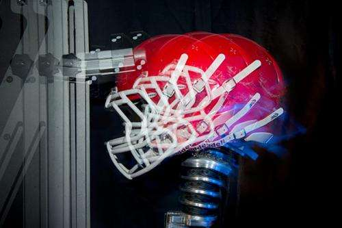 Bioengineers improve upon football mouthguard that senses head impacts