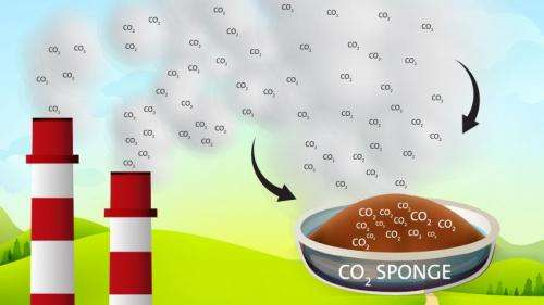 Carbon dioxide 'sponge' could ease transition to cleaner energy