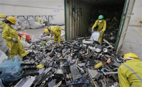 Dead floppy drive: Kenya recycles global e-waste