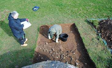 Excavation of Neolithic chambered tomb on Anglesey begins