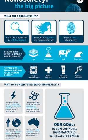 Nanoparticles and nanosafety: The big picture