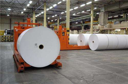 New process can reduce energy consumption of paper industry by 40 percent