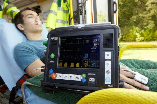 Portable telemedicine device for medics