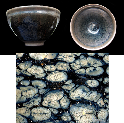 Researchers help discover rare form of iron oxide in ancient Chinese pottery