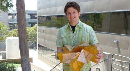 Solar power, origami-style