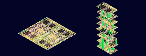 Stanford team combines logic, memory to build a 'high-rise' chip