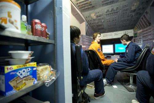 Students 'blast off' after space program saved