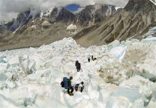 Climate change likely to make Everest even riskier