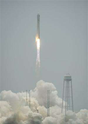 Space station shipment launched from Virginia
