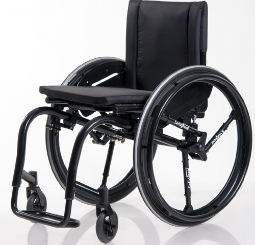 SoftWheel system signifies wheelchair relief  (w/ video)