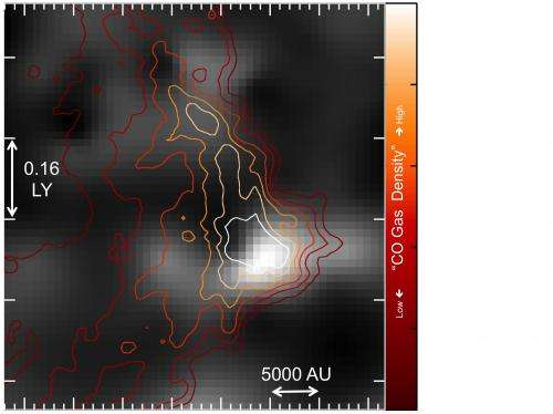 Astronomers map icy wastes in space