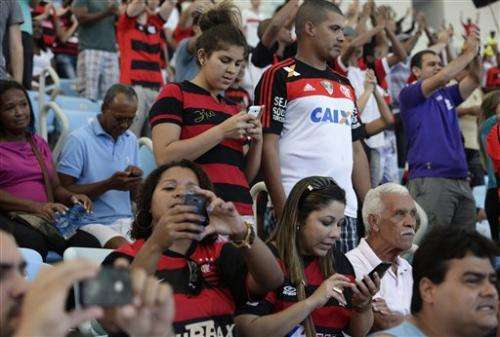Brazil's weak service makes WCup Tweets unlikely