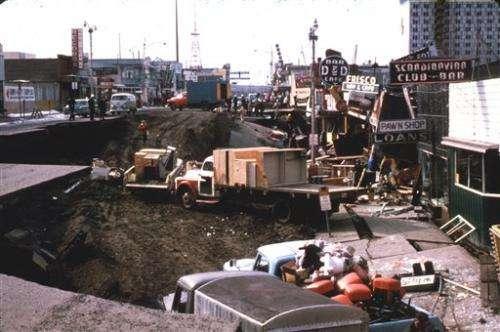 Great Alaska Earthquake shook Alaska 50 years ago