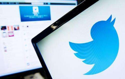 The logo of social networking website Twitter is displayed on a computer screen in London, September 11, 2013