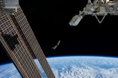 The space station's small satellite launcher suite