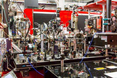 X-ray laser experiment explores how specially shocked material gets stronger