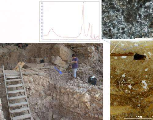 300,000-year-old hearth found