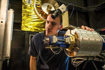 NASA tests new robotic refueling technologies
