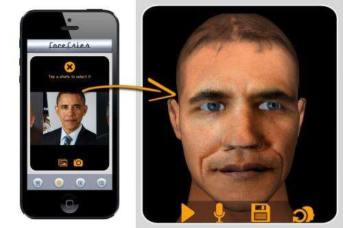 Researchers launch new FaceFries app