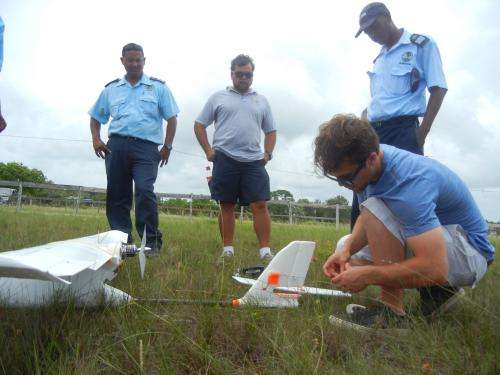 Safeguarding Belize's Barrier Reef with conservation drones