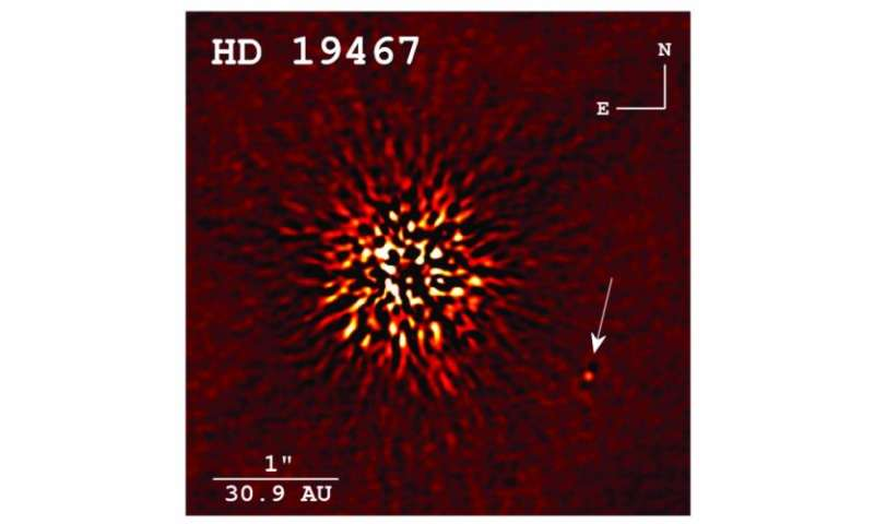 Scientists directly image brown dwarf for the first time at Keck Observatory