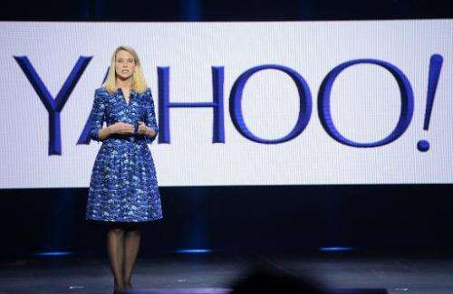Yahoo CEO Marissa Mayer speaks at the 2014 International CES in Las Vegas, Nevada, January 7, 2014