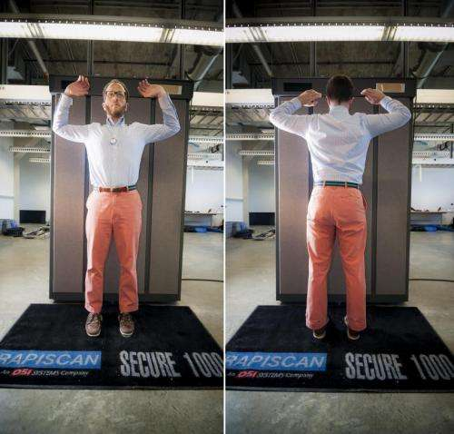 Researchers find security flaws in backscatter X-ray scanners