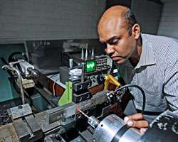 Revolutionary device makes machining composites as easy as 'cutting through butter'