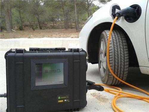 Researchers develop the first mobile charging system for electric vehicles